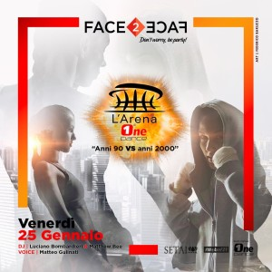 VEN. 25/01 FACE2FACE at Setai Club!