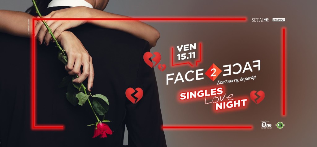 VENERDÌ 15.11 FACE2FACE at Setai Club!